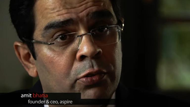 Aspire India – John P McNulty award 2012 winner